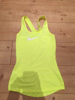 Neongelbes Sporttop von Nike