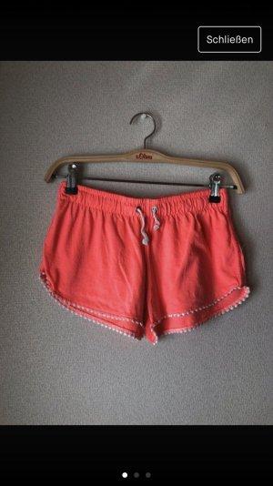 Neonpinke Shorts