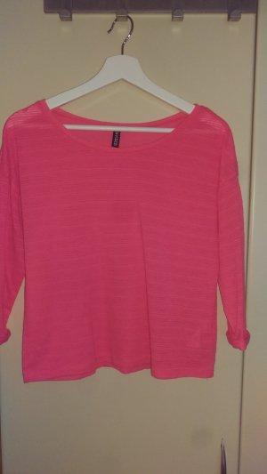 Neonpinkes 3/4 Shirt
