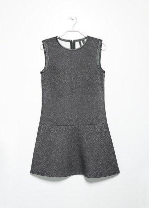 NEOPRENE-EFFECT DRESS