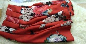 Asos Midi-rok veelkleurig Polyester