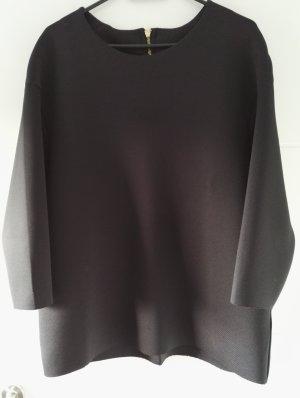 H&M Top extra-large noir-bleu foncé