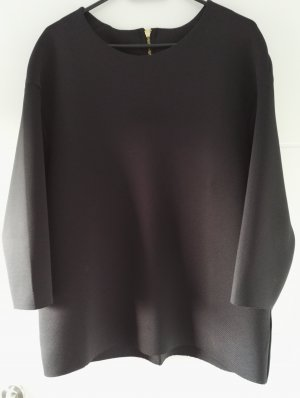 Neoprentop / Neopren / Top / schwarz / Egg-Shaped / Oversize Top / Größe S
