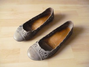 Neosens Ballerinas grey leather