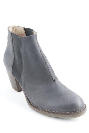 Neosens Chelsea Boots dunkelgrau-schwarz schlichter Stil