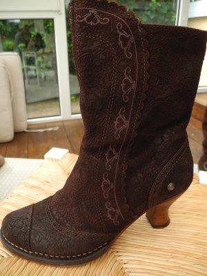 Neosens Rococo Stiefel Stiefelette Kurzstiefel Gr. 38 ECHT LEDER