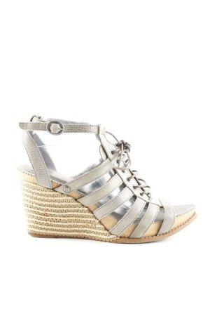Neosens Wedge Sandals light grey-brown casual look
