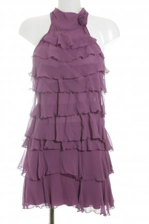 nerissimo Halter Dress violet romantic style