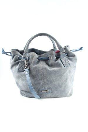 Nero Giardini Henkeltasche graublau Street-Fashion-Look