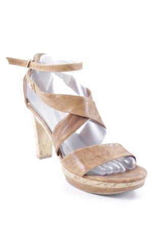 Nero Giardini High Heel Sandaletten braun Casual-Look