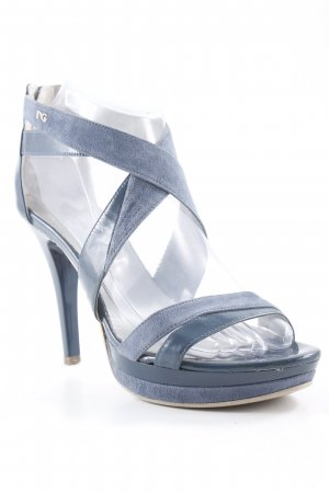 Nero Giardini High Heel Sandaletten kornblumenblau Party-Look