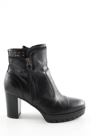Nero Giardini Platform Booties black casual look