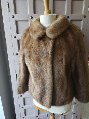 Nerz Gr 38 Mink Echter Nerz Pelz Jacke vintage