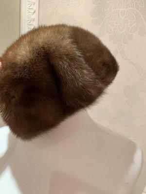 Fur Hat brown-dark brown