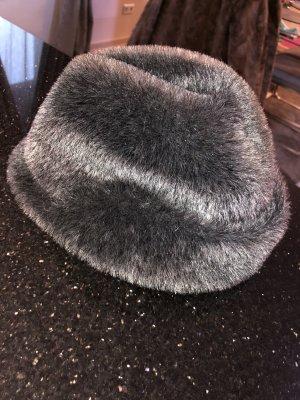 Cappello antracite-grigio scuro