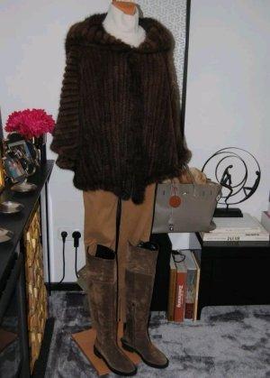 Pelt Jacket brown-dark brown pelt