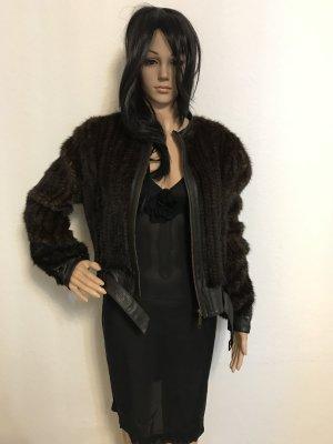 Pelt Jacket brown-light brown pelt