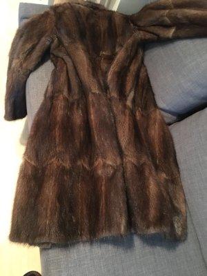 Abrigo marrón-marrón oscuro