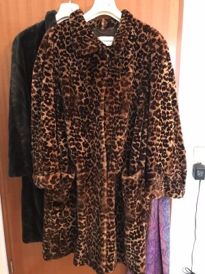Thomas Albrecht Pelt Coat brown-black