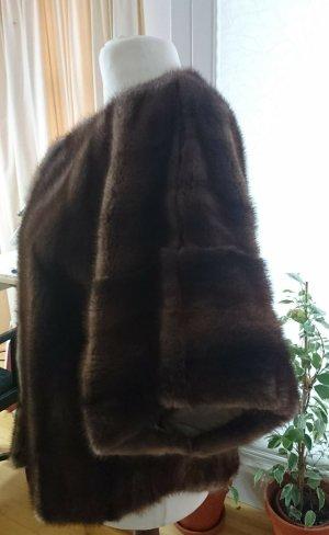 Pelt Coat brown-light brown pelt
