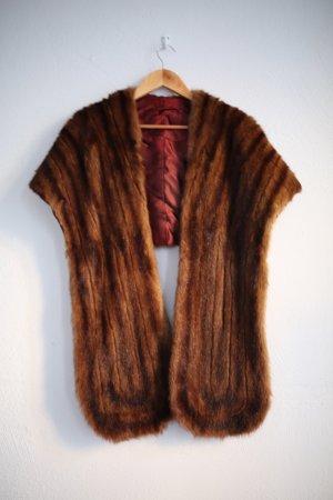 Vintage Boutique Collection Pelt Jacket cognac-coloured-brown