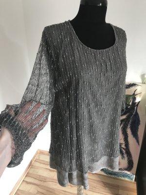 Netz-Kleid bzw. Netz-Bluse von Made in Italy 36/38/40