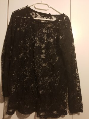 Gina Blusa in merletto nero