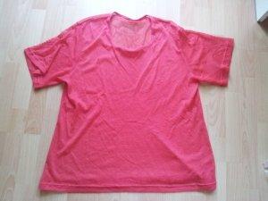 Netz Shirt rot Gr. 48
