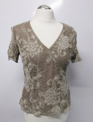 Lace Top multicolored mixture fibre