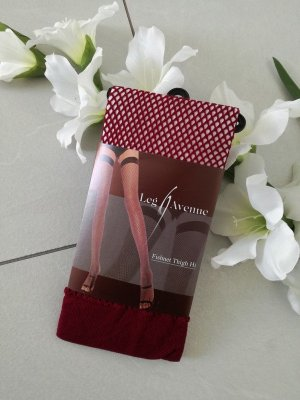Legwarmers brown red