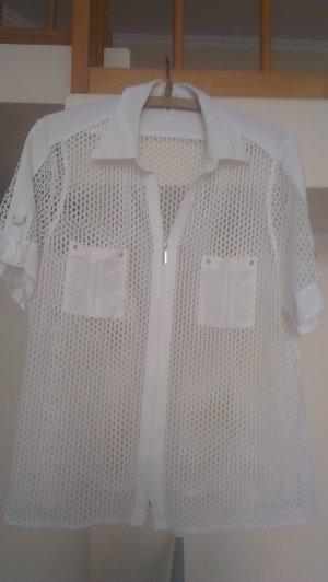 Netzhemd von Bonita (Wenz) mit Reißverschluss