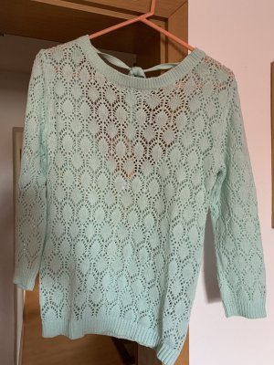 Ann Christine Wool Sweater baby blue