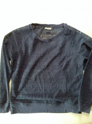 Mesh Shirt dark blue