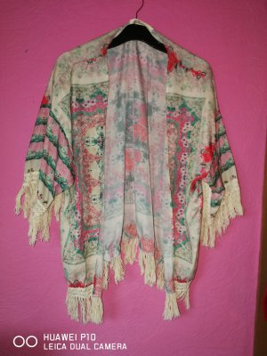Kimono turquesa