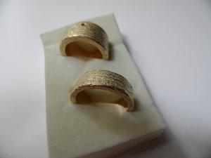 Neu! 2 Silber/Gelbgold Mit Brillant Trauringe Verlobungsringe Partnerringe