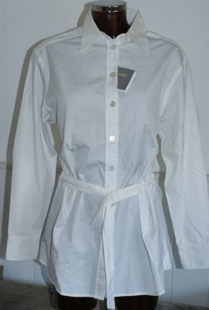 neu ~ 36 38 VAN LAACK ~ Luxus Tunika Bluse in Weiß Baumwolle €159,90 ❁❁ toll als Weihnachtsgeschenk ❁❁jetzt alle Teile mega reduziert :-)