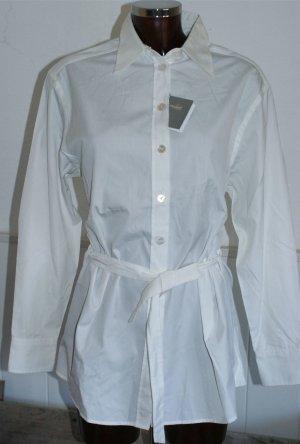 neu ~ 36 38 VAN LAACK ~ Luxus Tunika Bluse in Weiß Baumwolle €159,90  ☆☀☃♥ X-MAS SPECIAL-SALE ☆☀☃♥