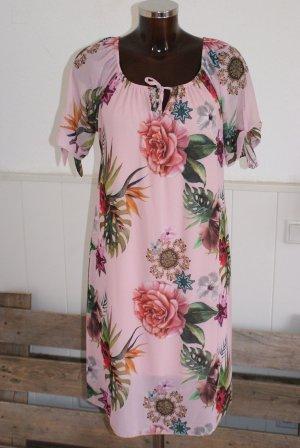 A Line Dress multicolored viscose