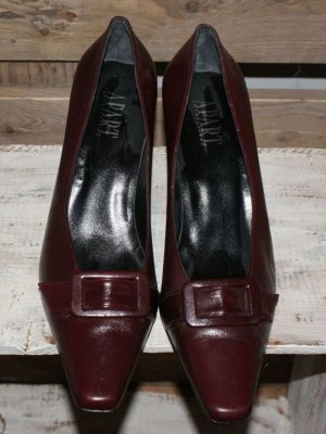 Apart Impressions High Heels bordeaux leather