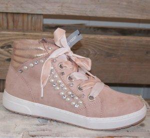 Neu 40 MARCO TOZZI schönster Trend Sneaker in Rosé ~ aktuelle Kollektion 2017/18