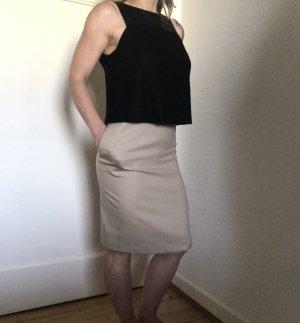 NEU! 555€ Gio´Guerreri Abend Business Kleid Cocktailkleid IT46 DE 40 L Schwarz-Beige
