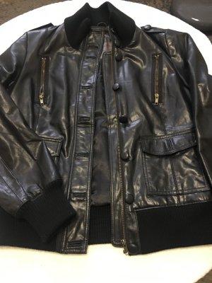 BlendShe Leather Jacket black