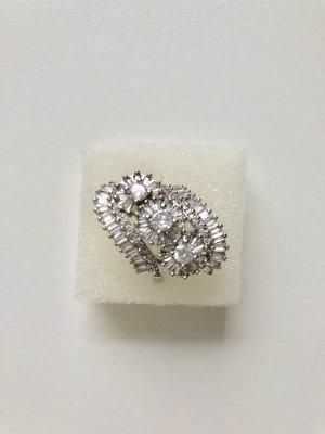 NEU 925 silber Damen Ring Gr 17 cm