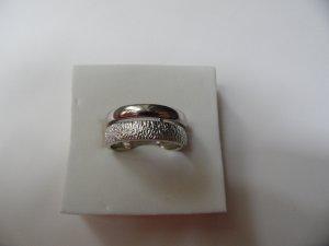 Neu! 925 Silber Ring Silberring Modern