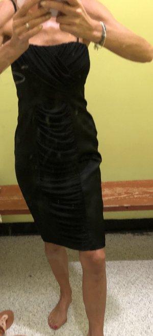 Neu Abendkleid Calvin Klein Cocktailkleid schwarz USGr.4 hoher NP