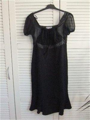 Neu! Abendkleid Cocktailkleid im Empirestil Ashley Brooke Größe 38 schwarz