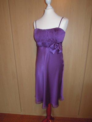 NEU Abendkleid Kleid Cocktailkleid Chiffon lila Gr. 38 Vera Mont