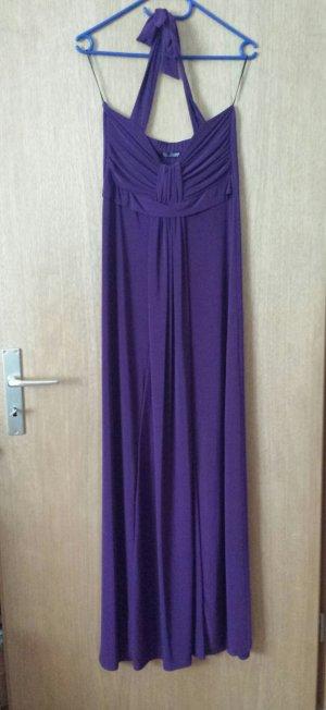 NEU Abendkleid Neckholder violett lila