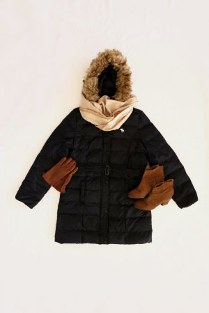 Abercrombie & Fitch Down Coat multicolored