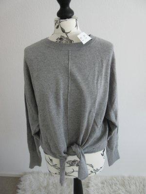 *neu* abercrombie & fitch Pullover grau M